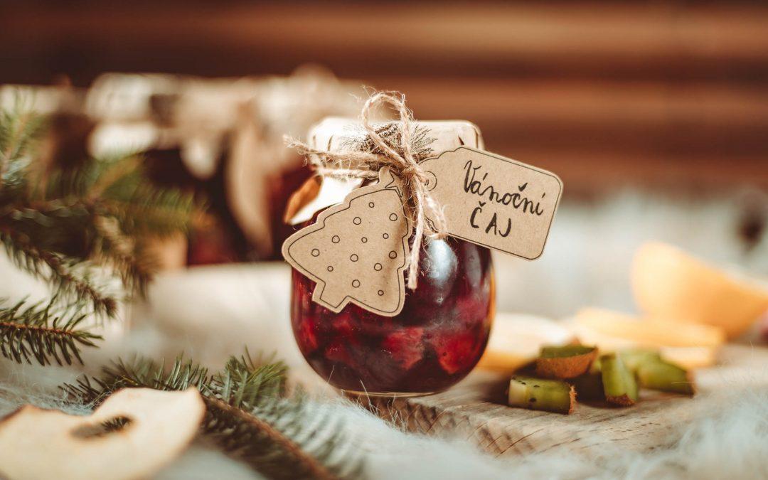 Pečený čaj jako vánoční dar